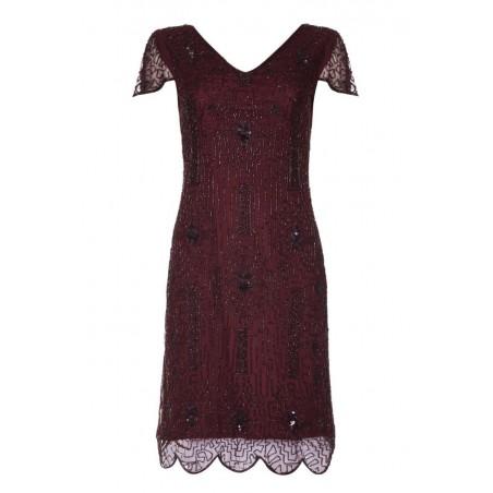 1920s Style Ivory Tea Party Dress