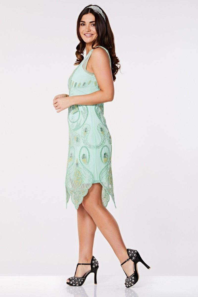 e53cfc6721c 1920s style cream wedding dress. vintage 1920s wedding dresses ...
