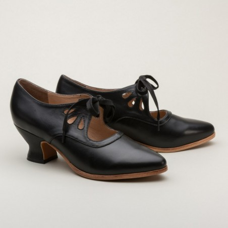 Gibson 1920s Shoes in Black - SOLD OUT