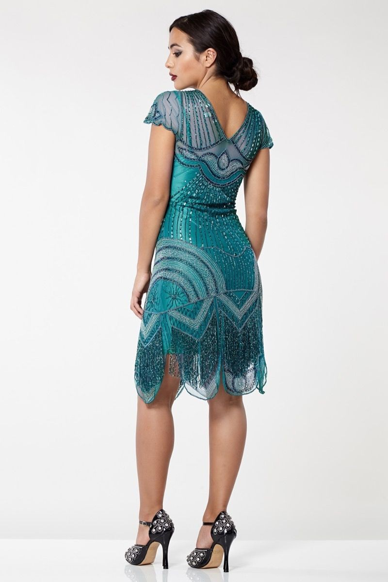 20dea501489 1920s Vintage Style Plus Size Dresses - Flapper Style Dresses