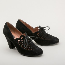 Alice Retro Oxfords in Black