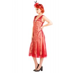 1920s Style Quartz Tea Party Dress