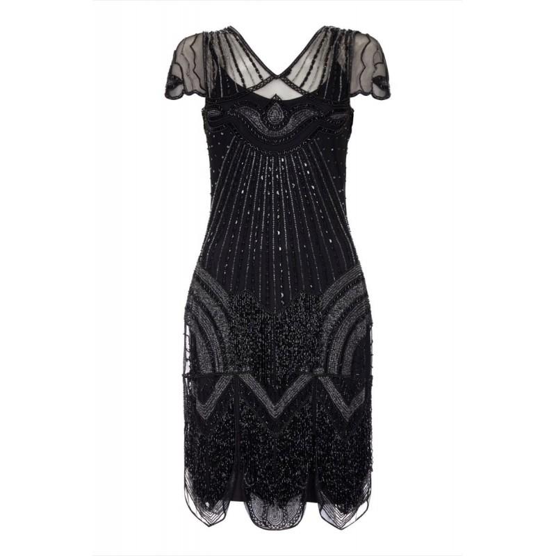 Empire Waist Tea Party Sapphire Dress